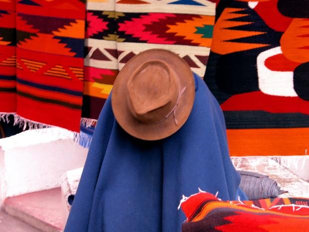 Clarita. En un mercado ecuatoriano