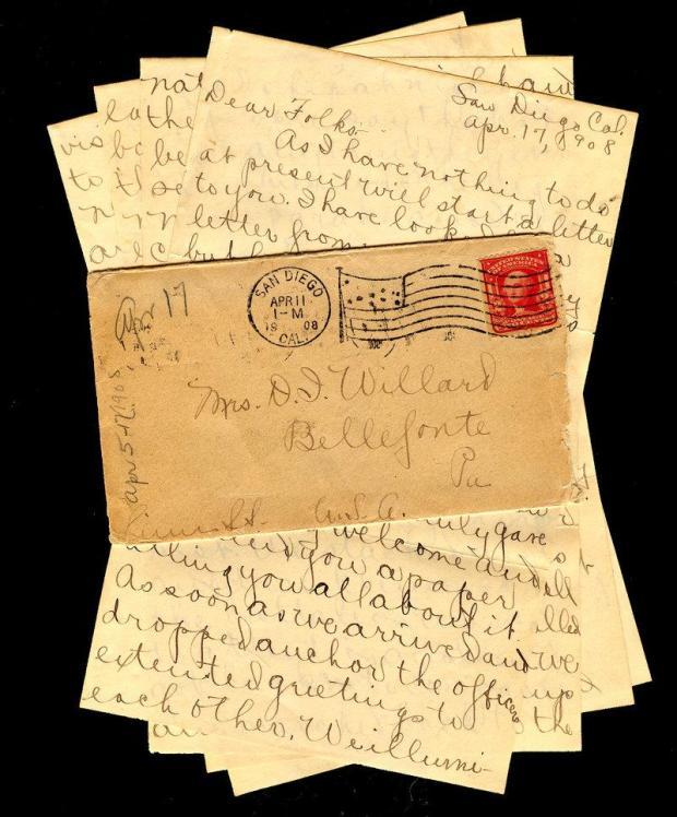 Envelope, letters, write